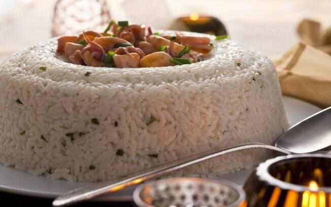 Para os amante de fruto do mar, nada melhor que um arroz com lulas