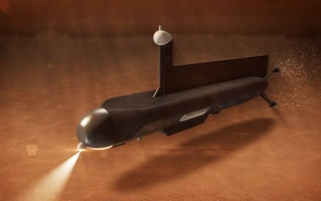 Espaçonave teria que orbitar Titan para possibilitar comunicações entre o submarino e a Terra