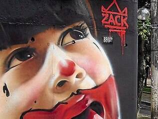 Grafiteiro Nilo Zack insipira o estilista Ronaldo Fraga.