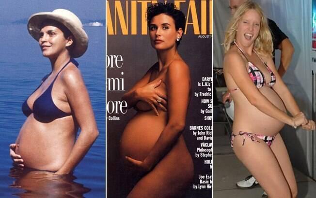 De 20 em 20 anos: Leila na praia em 1971, Demi na capa em 1991 e candidata do concurso realizado na semana passada