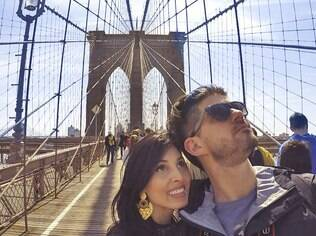 Vinicius e Julia: um casal que sai da rotina