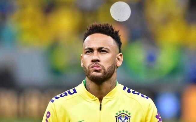 Neymar é esperança da seleção