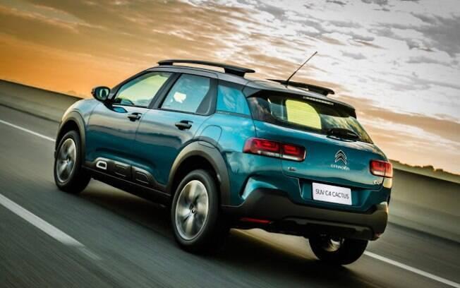 Citroën C4 Cactus parece mais um hatch que um SUV até na hora de acelerar, principalmente na estrada