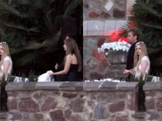 Abril Lavigne e Chad se casam em segredo no sul da França