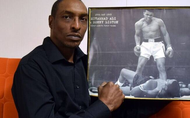 Muhammad Ali Jr, filho da lenda do boxe com Khalilah Ali