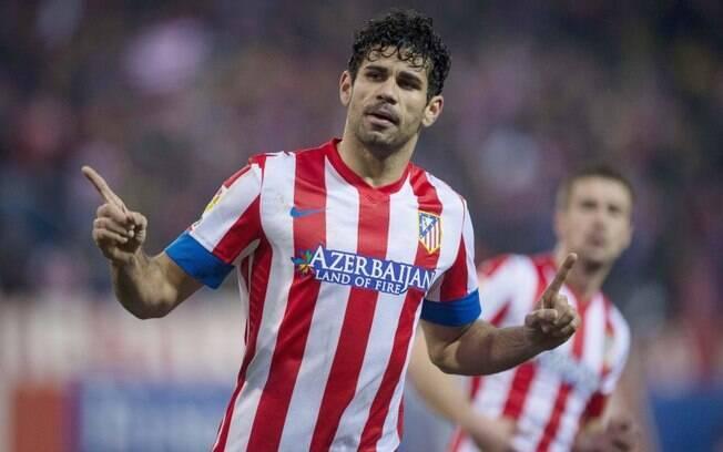 Diego Costa, atacante do Atlético de Madri