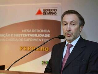 Diretor geral da Ferrero do Brasil e Cone Sul, Carlos Magan
