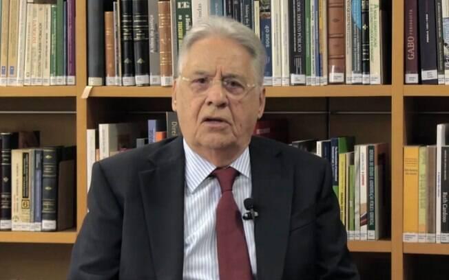 Em entrevista, FHC lamentou a polarização existente na política brasileira
