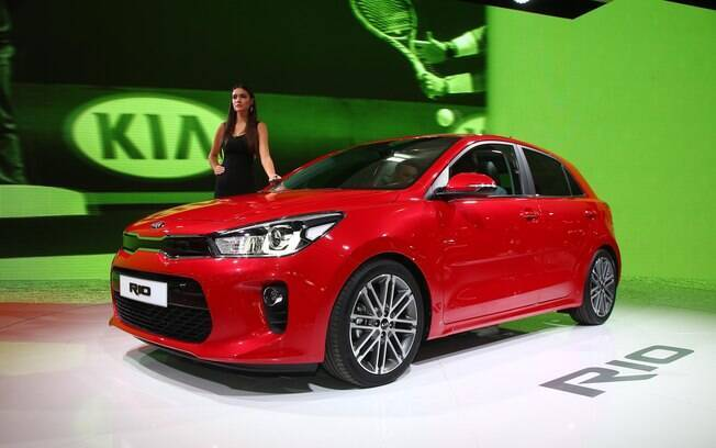 Previsto para 2017, o Kia Rio estará no Brasil nas versões hatchback e sedã.