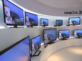 TVs da LG na CES 2012: empresa quer padronizar aplicativos