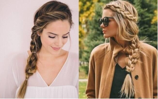 Dicas de beleza: tranças são penteados práticos, clássicos e que combinam com todos os estilos de roupa e  de cabelo