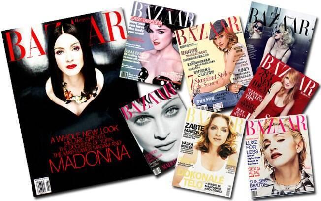 Madonna em edições anteriores da revista