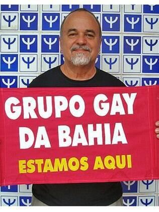 Luiz Mott, presidente do Grupo Gay da Bahia