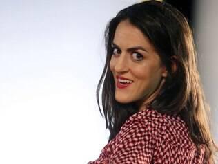 Luciana Paes, atriz do grupo de teatro Cia. Hiato, e destaque no musical exibido