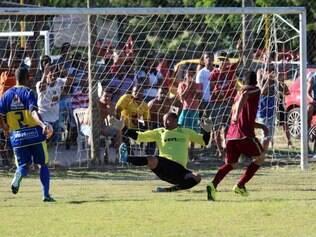 O São Caetano ficou no empate por 1 a 1 com o Fita Azul, na estreia do time betinense no torneio