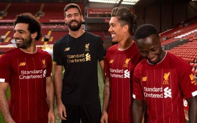 O trio de ataque do Liverpool é um dos melhores do mundo na atualidade.