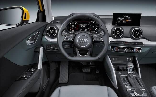 A lista de equipamentos do Q2 inclui até controle de cruzeiro adaptativo e sistema de estacionamento automático