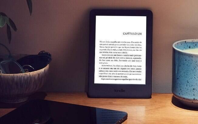 Kindle da 10ª geração está em promoção no site da Amazon
