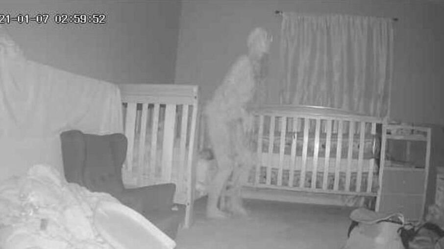 Vulto próximo a cama de crianças foi visto em casa de família em Nevada, nos Estados Unidos
