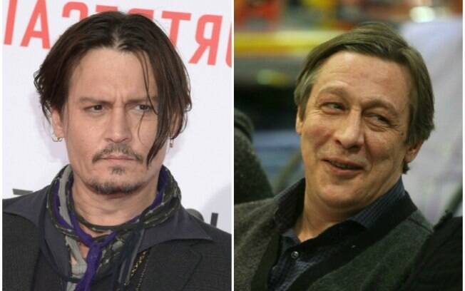 Johnny Depp e Mikhail Efremov
