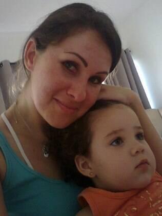 Luciana e a filha Salomé: 'comecei a falar com ela elogiando suas qualidades, ressaltando a criatividade e a inteligência'