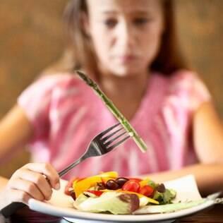 Os transtornos alimentares mais comuns são anorexia, bulimia e compulsão alimentar