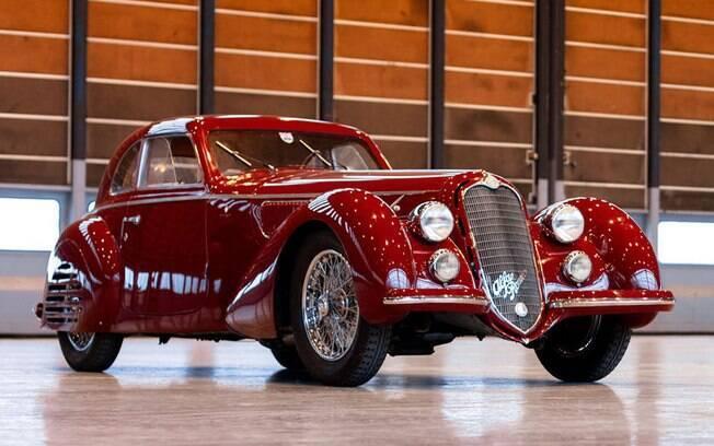 Este Alfa Romeo o modelo mais cobiçado da marca italiana. Sua existência, na forma como se encontra, é impressionante