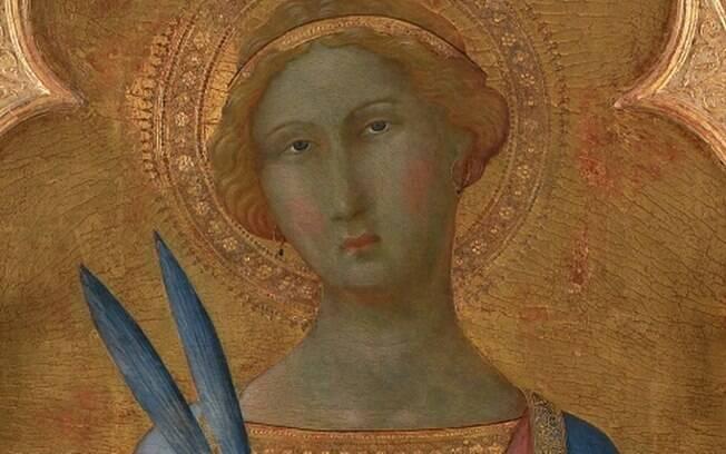 Pintura de Santa Corona: pouco conhecida, ganhou