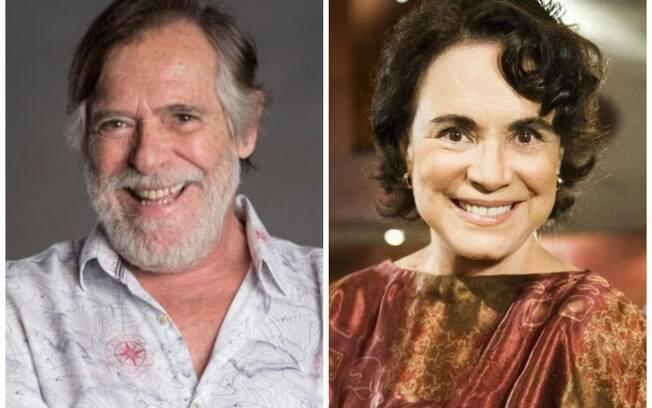José de Abreu critica Regina Duarte