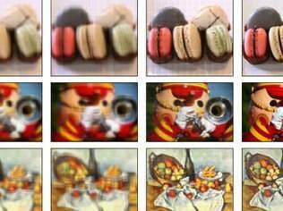 Simulação mostra efeito de tela na definição de imagem