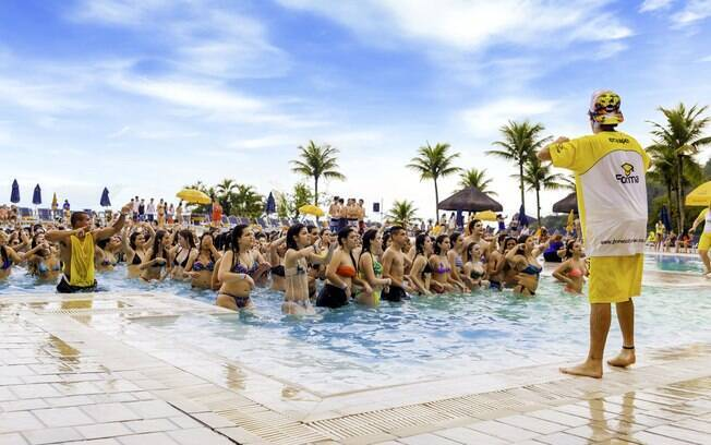 O resort é a opção mais indicada para os estudantes que estão no Ensino Fundamental