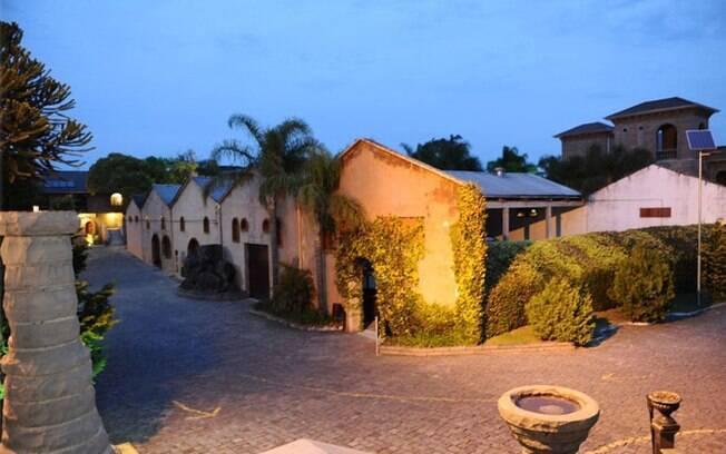 Até o café da manhã na Villa Valduga, em Bento Gonçalves, é harmonizado com espumante. Foto: Divulgação