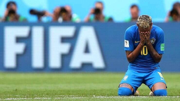 2c49fe3b92 Neymar utiliza vídeo de Leandro Hassum para falar sobre choro - Copa do  Mundo - iG