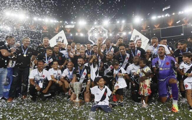 Vasco campeão da Taça Guanabara