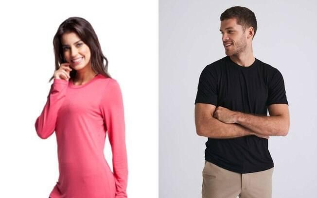 Marcas como Insider, Kanxa e Malwee estão oferecendo camisetas com tecidos antiviral para proteger contra a transmissão do coronavírus