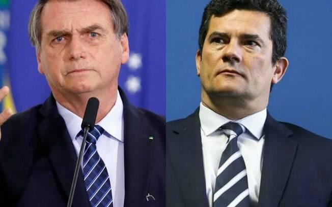 Sergio Moro defendeu Bolsonaro de acusações de caixa dois