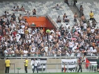 Esportes -  Campeonato Brasileiro 2014 - Jogo Cruzeiro x Atletico MG , valido 23 rodada do Campeonato Brasileiro 2014 no estadio Mineirao em Belo Horizonte MG. Foto: Alex de Jesus/O Tempo 21/09/2014