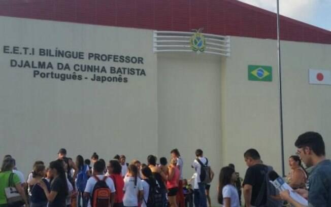 Escola Estadual de Tempo Integral Bilíngue Professor Djalma da Cunha Batista, em Manaus