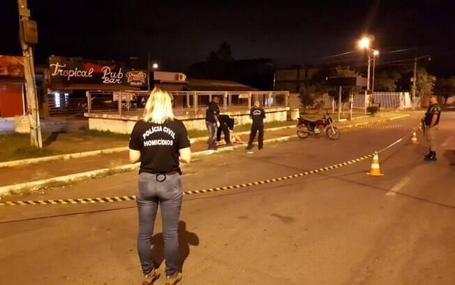 Carnaval no Palquinho foi marcado por um tiroteio, que resultou na morte de duas mulheres; ninguém foi preso ainda