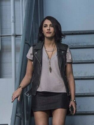 Naomi Scott interpreta Kimberly Hart, a ranger rosa
