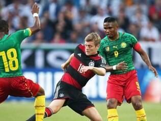 Camarões teve um bom desempenho contra a Alemanha e pode dificultar para o Brasil na Copa