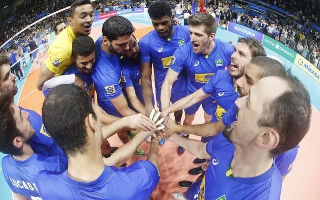 Grupo do Brasil segue unido em busca do título mundial