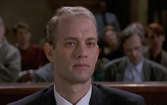 Tom Hanks ganhou o Oscar pelo personagem gay Andrew Beckett