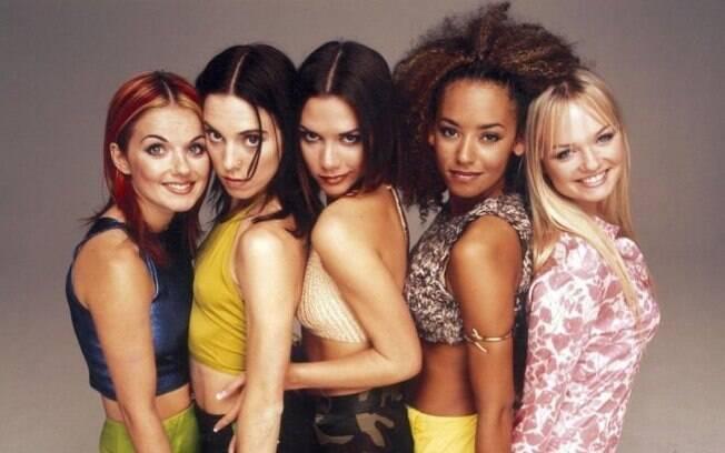 As Spice Girls fizeram um sucesso estrondoso durante os anos 90, com músicas como Wannabe