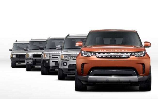 Quinta geração do Land Rover Discovery será bem mais leve e arrojada que a atual