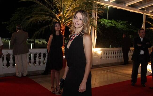 Bianca Rinaldi compareceu à festa nessa segunda-feira (30)