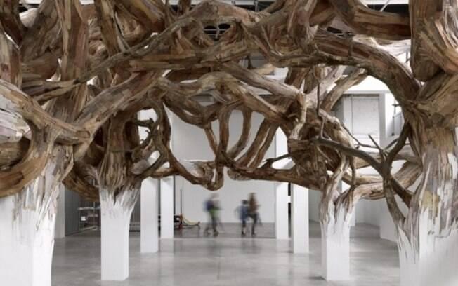 Palais de Tokyo é endereço certo para quem gosta arte moderna e contemporânea. Foto: Reprodução/ exposição