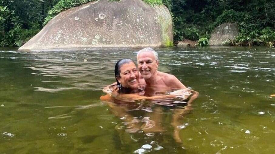 Caetano Veloso e Regina Casé