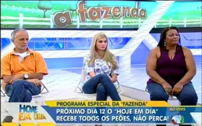 Regina Célia sentou ao lado de Bárbara Evans, filha de Monique, e Rui Neves, pai de Joana Machado