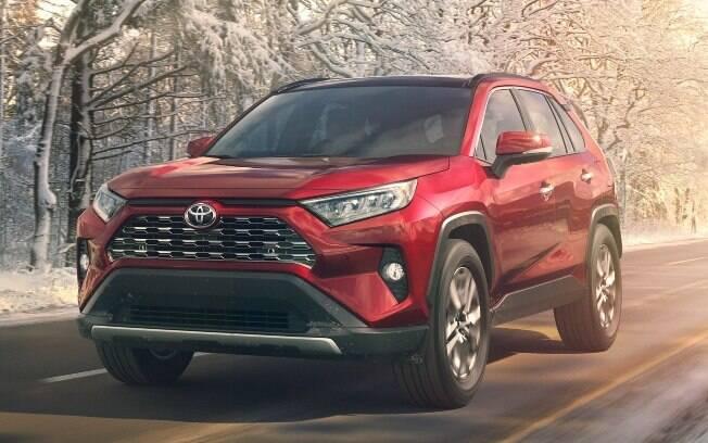 O Toyota RAV4 atenderá a demanda crescente por SUVs aqui no Brasil, e aos clientes incondicionais de carros japoneses